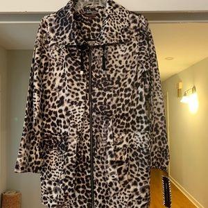 Dana Buchman Leopard print jacket